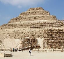 Step Pyramid of Djoser in December 2010 by Ren Provo