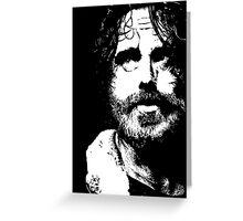 The Walking Dead: Rick #2 Greeting Card