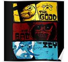 Adventure Time Jake And Finn The Good The Bad Poster