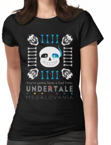 Sans - Undertale Womens Fitted T-Shirt