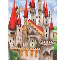 Wonderland Hearts and Turrets Photographic Print