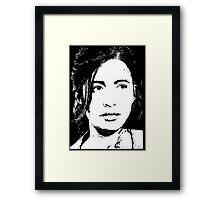 The Walking Dead: Rosita Framed Print