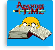 Adventure Time To Study Canvas Print
