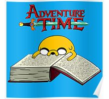 Adventure Time To Study Poster