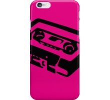 Fluo vintage audio cassette iPhone Case/Skin
