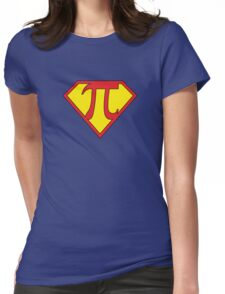Super Pi Womens Fitted T-Shirt