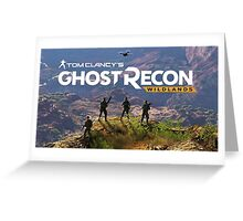 ghost recon wildlands Greeting Card
