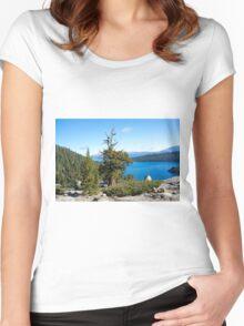 Scenic Overlook Women's Fitted Scoop T-Shirt