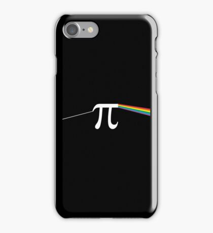 The Dark Side Of The Pi iPhone Case/Skin