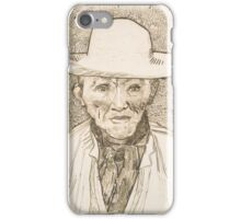 Vincent van Gogh, Peasant of the Camargue iPhone Case/Skin