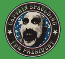 Captain Spaulding for President One Piece - Short Sleeve