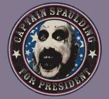 Captain Spaulding for President Kids Tee