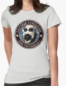 Captain Spaulding for President Womens Fitted T-Shirt