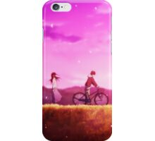 Hyouka: Chitanda x Oreki Bike Scene Phone Case iPhone Case/Skin