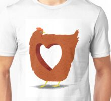 Chicken heart Unisex T-Shirt