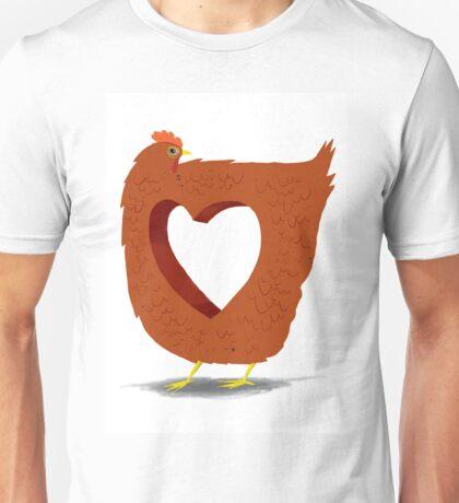 Chicken heart Unisex T-Shirt