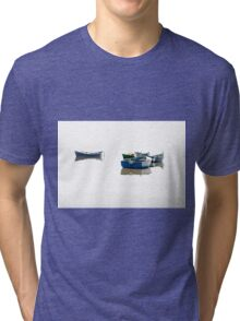Flying on the water. Tri-blend T-Shirt