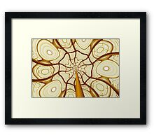 Butterscotch Rose Framed Print