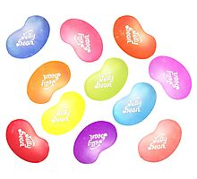 Jelly Belly Jelly Bean Multi Photographic Print