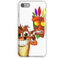 Crash Bandicoot Pass Man Di Zoot iPhone Case/Skin