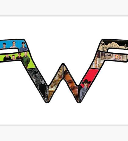 Weezer Logo Sticker