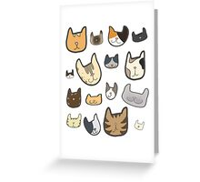 cats, cats, CATS Greeting Card