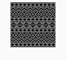Aztec Essence Ptn III Black on Grey Unisex T-Shirt