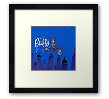Buffy Bewitched Framed Print