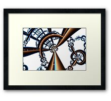 Central Vanishing Point No. 4 Framed Print
