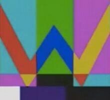 Weezer Old Logo Sticker