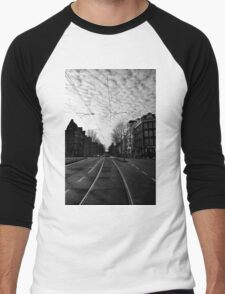 New Year's Day in Amsterdam Men's Baseball ¾ T-Shirt