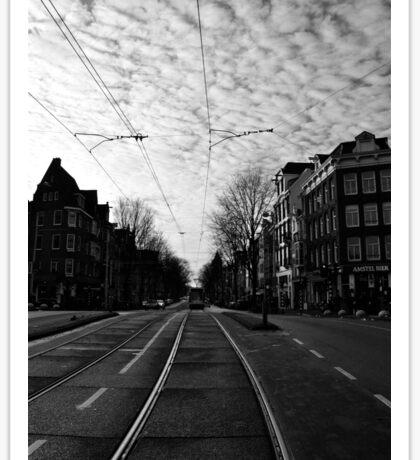 New Year's Day in Amsterdam Sticker