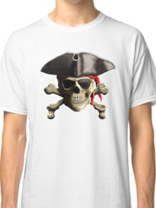 The Jolly Roger Pirate Skull Classic T-Shirt