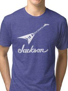 Jackson guitar flying v Tri-blend T-Shirt