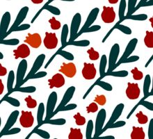 TWIGS AND BERRIES Sticker