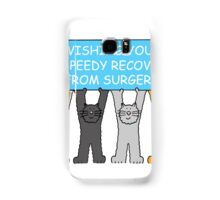 Wishing you a speedy recovery from surgery. Samsung Galaxy Case/Skin