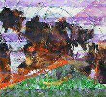 Anomaly 2 - Original Wall Modern Abstract Art Painting by Dmitri Matkovsky