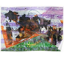 Anomaly 2 - Original Wall Modern Abstract Art Painting Poster