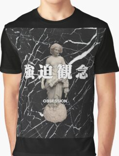 Black Marble Vaporwave Graphic T-Shirt