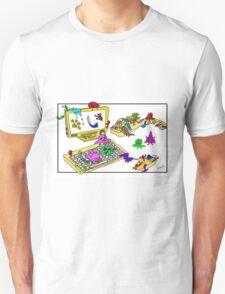 Bugs on the Workstation Unisex T-Shirt