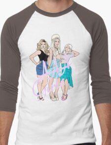 AAA Girls Men's Baseball ¾ T-Shirt