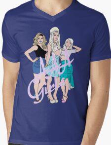 AAA Girls Mens V-Neck T-Shirt