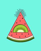 Watermelon X Kiwi by prawidana