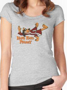 HONG KONG PHOOEY! Women's Fitted Scoop T-Shirt