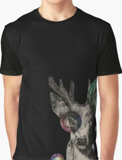 Bubble Stag Graphic T-Shirt