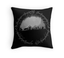 The Lord of The Rings Throw Pillow