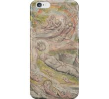 William Blake, Milton's Mysterious Dream iPhone Case/Skin