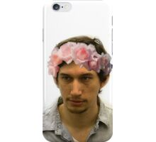 Adam Driver Flower Crown iPhone Case/Skin