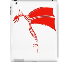 Tribal Life - Wyvern - red iPad Case/Skin