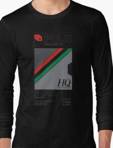Retro VHS tape vaporwave aesthetic Long Sleeve T-Shirt